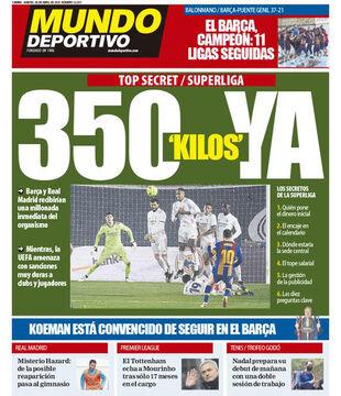 روزنامه موندو| ۳۵۰ میلیون، همین حالا
