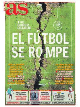روزنامه آ اس| فوتبال شکست