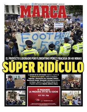 روزنامه مارکا| سوپر مسخره