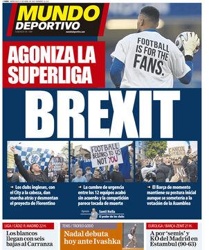 روزنامه موندو| برگزیت: عذاب سوپرلیگ