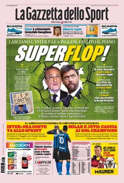 روزنامه گاتزتا| سوپر فرار!
