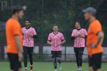 گزارش تصویری  تمرین پرسپولیس بعد از برتری مقابل گوا
