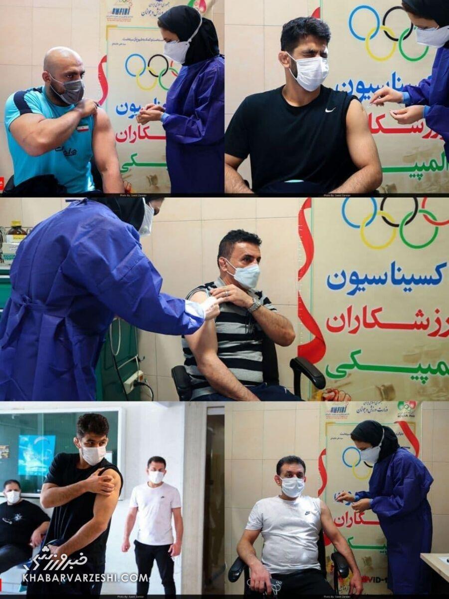 واکسن کرونا برای تیم ملی کشتی