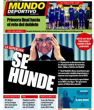 روزنامه موندو| سوپرلیگ: بو میدهد
