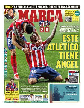 روزنامه مارکا| اتلتیکو یک فرشته دارد