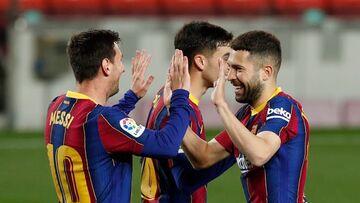ویدیو| خلاصه بازی بارسلونا ۵-۲ ختافه