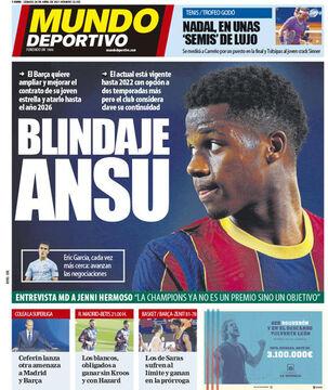 روزنامه موندو| سپر آنسو