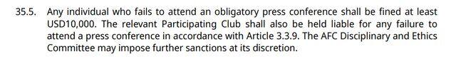 جریمه احتمالی ۲۰ هزار دلاری AFC برای پرسپولیس و مغانلو