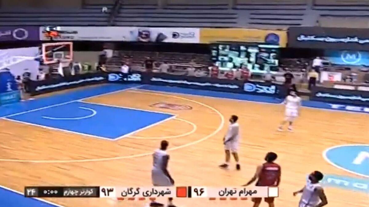 تصاویر عجیبترین صحنه ورزش ایران/ دست خدا دیده شد!