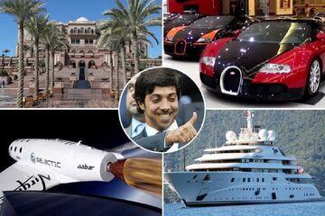 زندگی ۱۷ میلیارد پوندی شیخ منصور؛ مالک منچسترسیتی/ پادشاهی در سرتاسر دنیا