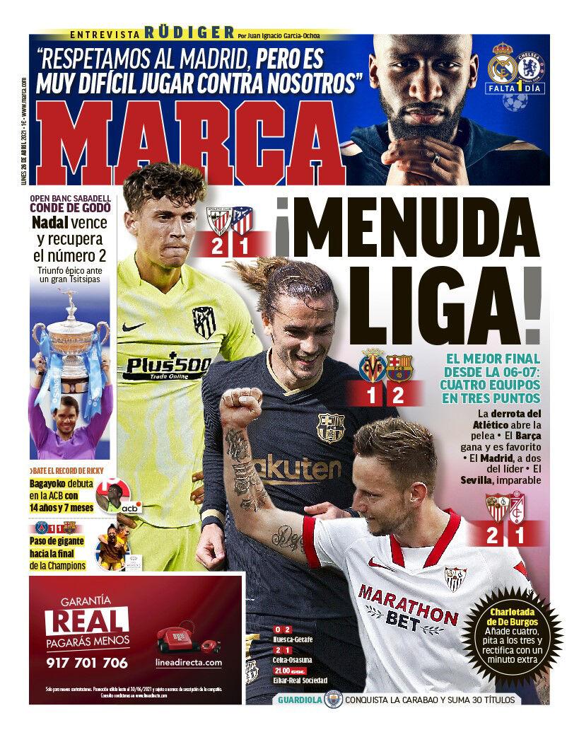 روزنامه مارکا| چه لیگی