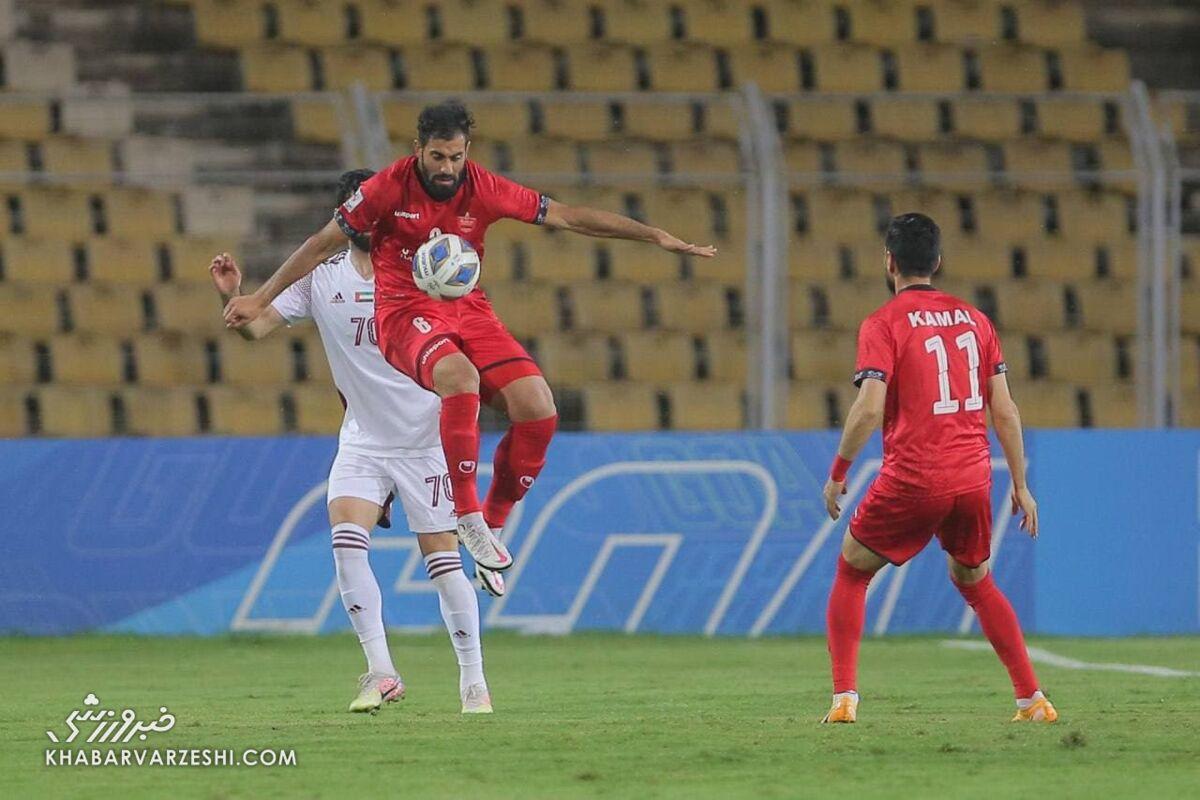 گزارش لحظه به لحظه: الوحده امارات یک - پرسپولیس ایران صفر/ بازیکن تازه وارد اماراتی اخراج شد!