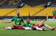عکس| خوشحالی شگفتیسازان لیگ قهرمانان آسیا در رختکن
