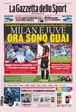 روزنامه گاتزتا| میلان و یووه، حالا شما در دردسر هستید