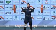 ویدیو  شکسته شدن رکورد وزنهبرداری توسط بانوی ایرانی