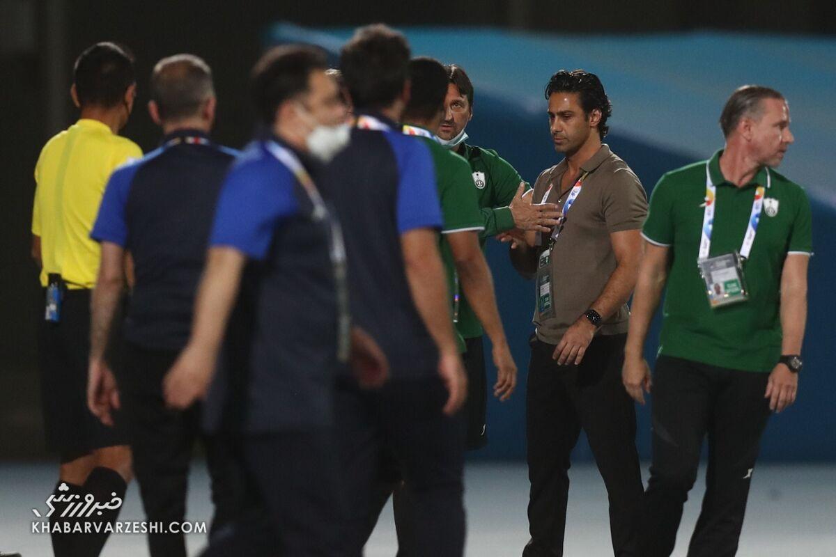 AFC به استقلال هم رحم نکرد/ سرمربی و کاپیتان استقلال جریمه شدند