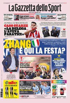 روزنامه گاتزتا| ژانگ، این مهمانی ما است؟