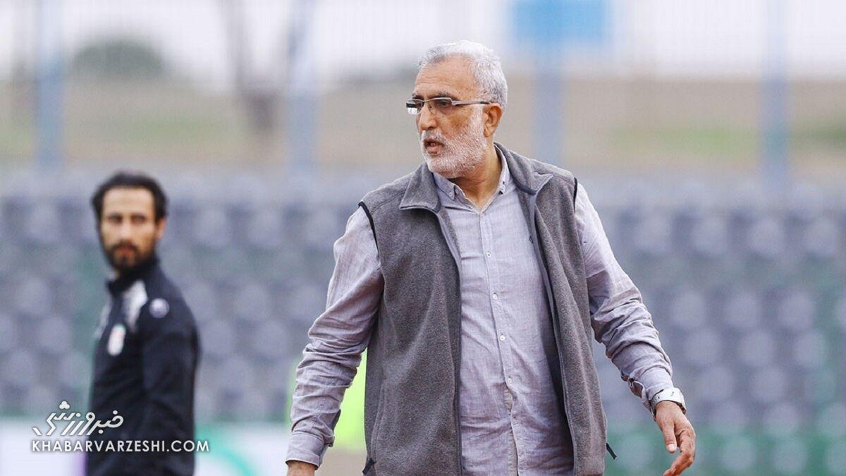 مربی سابق تیم ملی در جلسه با رئیس فدراسیون فوتبال شرکت نکرد
