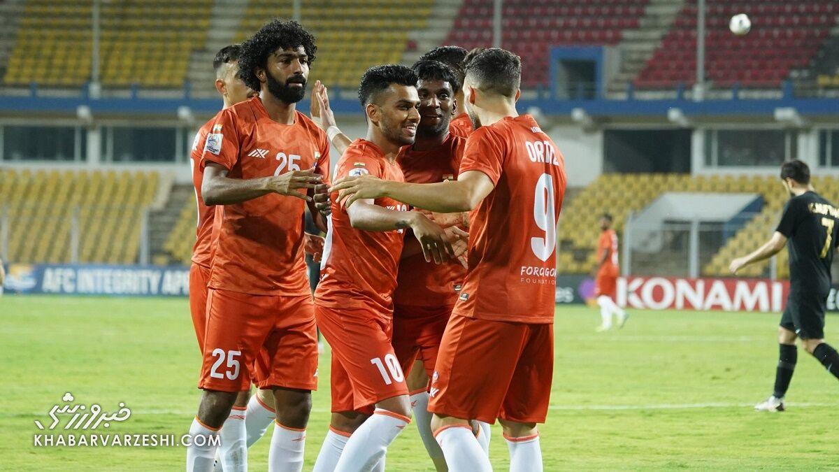 قبل از پایان لیگ قهرمانان؛ کرونا بازیکنان و مربی گوای هند را فراری داد