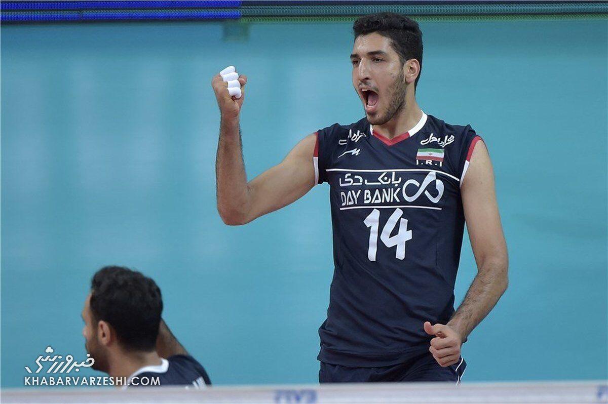 ملیپوش والیبال ایران لژیونر شد