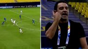تصاویر تلخترین لحظه ژاوی در لیگ قهرمانان/ آفساید جنجالی؛ داور السد را قربانی کرد