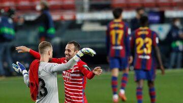 ویدیو| خلاصه بازی بارسلونا ۱-۲ گرانادا