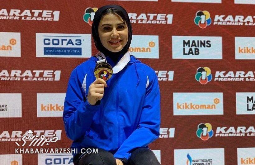 سارا بهمنیار سومین بلیط المپیک گرفت
