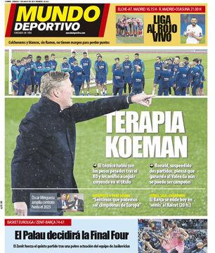 روزنامه موندو| کومانتراپی