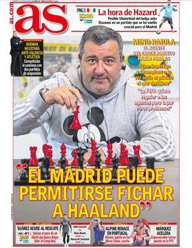 روزنامه آ اس| رئالمادرید این تابستان توانایی خرید هالند را دارد