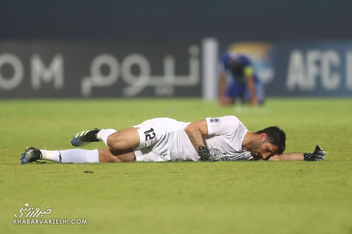 تصویر جنجالی ستاره استقلال در لیگ قهرمانان آسیا/ نیازی به غش کردن نبود!