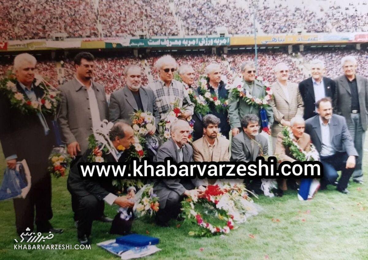تصویری منتشر نشده از چهرههای به یادماندنی فوتبال ایران