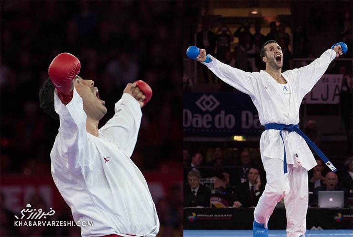 پایان کار ایران با یک طلا، یک نقره و ۲ برنز در لیگ جهانی کاراته وان لیسبون