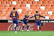 والنسیا ۲ - بارسلونا ۳/ کاتالانها در کورس ماندند