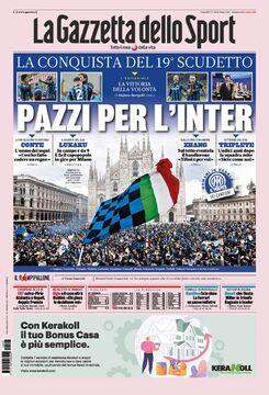 روزنامه گاتزتا| دیوانه اینتر