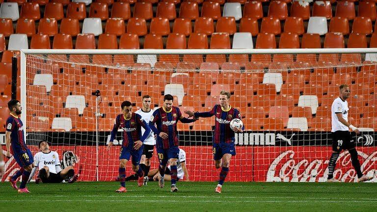 ویدیو  خلاصه بازی والنسیا ۲-۳ بارسلونا