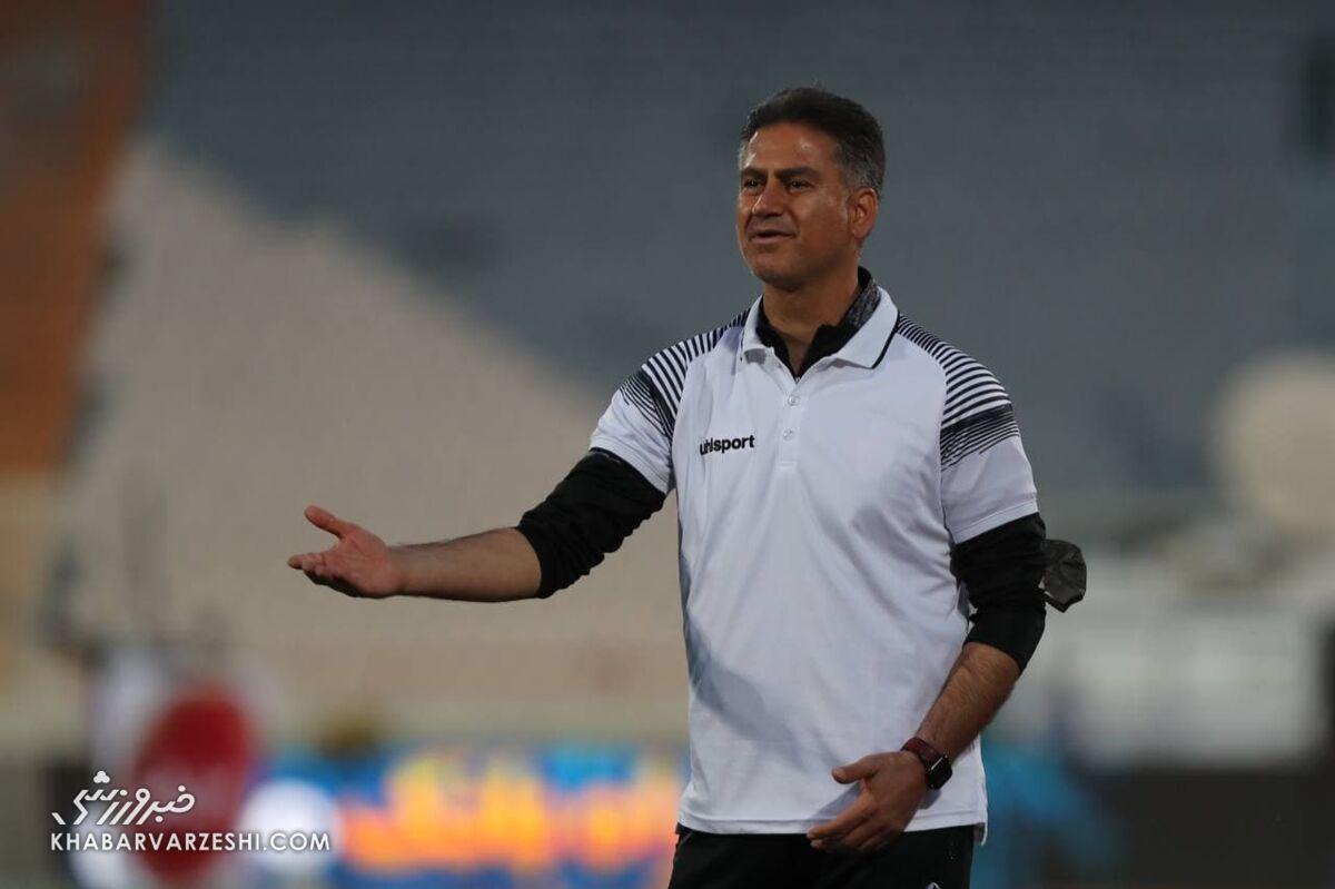 کنایه تند مربی پرسپولیس به استقلال/ این بازی قهرمان لیگ را تعیین نمیکند