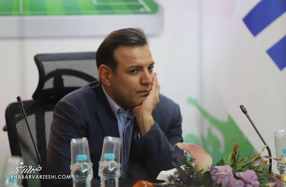خادم: تیمهای لیگ برتری باید در حوزه بانوان و پایه هم تیمداری کنند