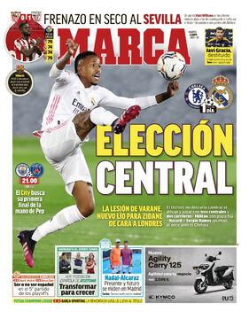 روزنامه مارکا| انتخاب میانی