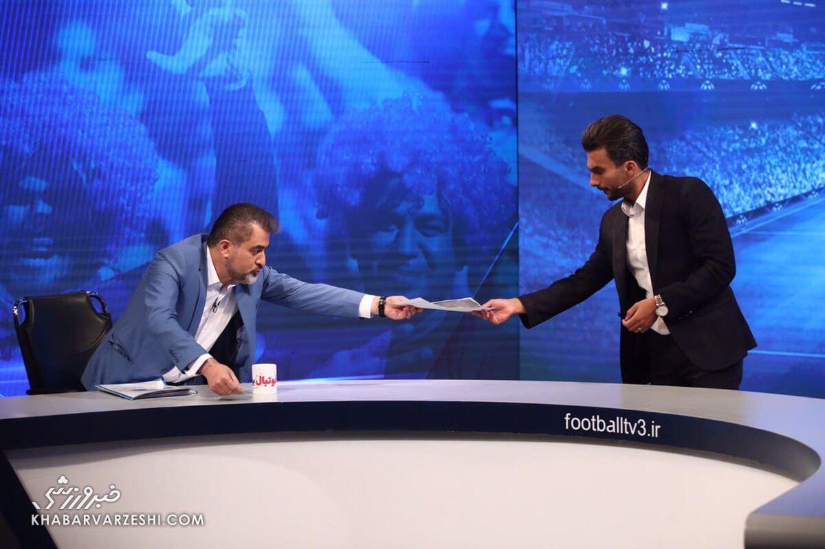 اتفاق سوال برانگیز در برنامه فوتبال برتر/ چرا میثاقی با رئیس هیئت مدیره استقلال مصاحبه کرد؟