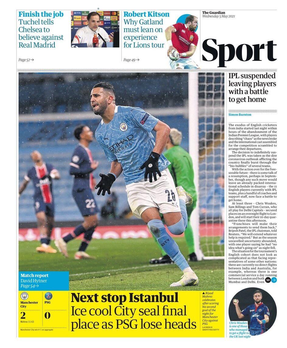 روزنامه گاردین| توقف بعدی استانبول