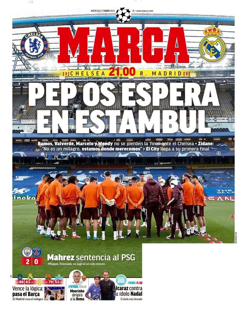 روزنامه مارکا| پپ در استانبول منتظر شماست