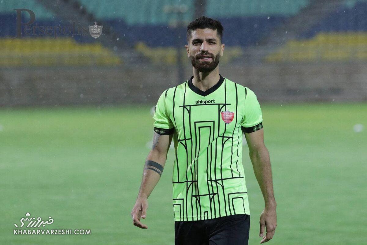 مشکل هافبک پرسپولیس برای همراهی تیم ملی در بحرین