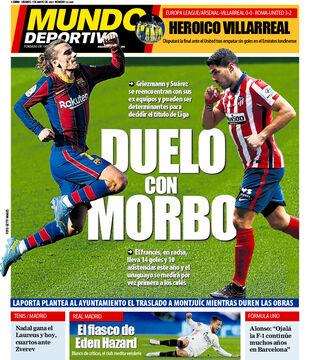 روزنامه موندو| دوئلی با ترس
