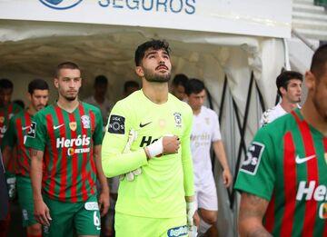 عکس  عابدزاده دومین دروازهبان برتر لیگ پرتغال