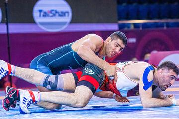 بدشانسی و حذف علیزاده در مسابقات گزینشی المپیک