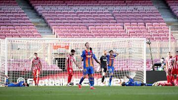 ویدیو| خلاصه بازی بارسلونا ۰-۰ اتلتیکومادرید
