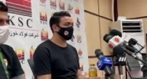 ویدیو| کنفرانس خبری جواد نکونام پس از برد گل گهر