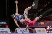 رویارویی علیزاده با قهرمان روسی المپیک