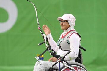 زن ورزشکار ایرانی در انتخابات شورای کمیته پارالمپیک