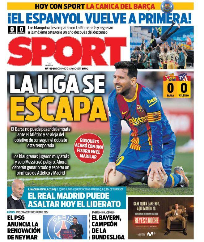 روزنامه اسپورت| لالیگا فرار کرد